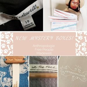 Free People Anthro Madewell Mystery Box NEW